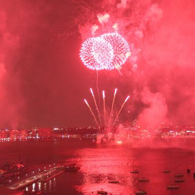 fireworks…